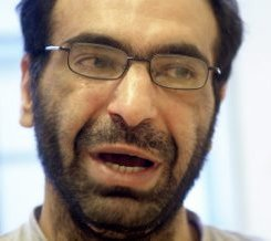 Khaleed Daoed in Sweden prior to extradition to Australia, October 2003 (Arbetarbladet)